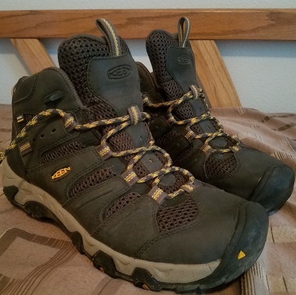 f245f88fdda Keen men's koven mid waterproof hikers